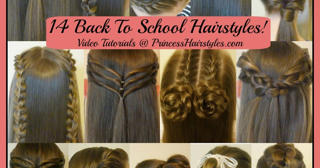 14 Easy Hairstyles For School Compilation! 2 Weeks Of Heatless Hair Tutorials | Hairstyles For