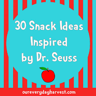 Dr. Seuss Inspired Snacks for Kids