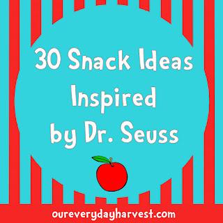 Dr. Seuss Inspired Snacks for Kids