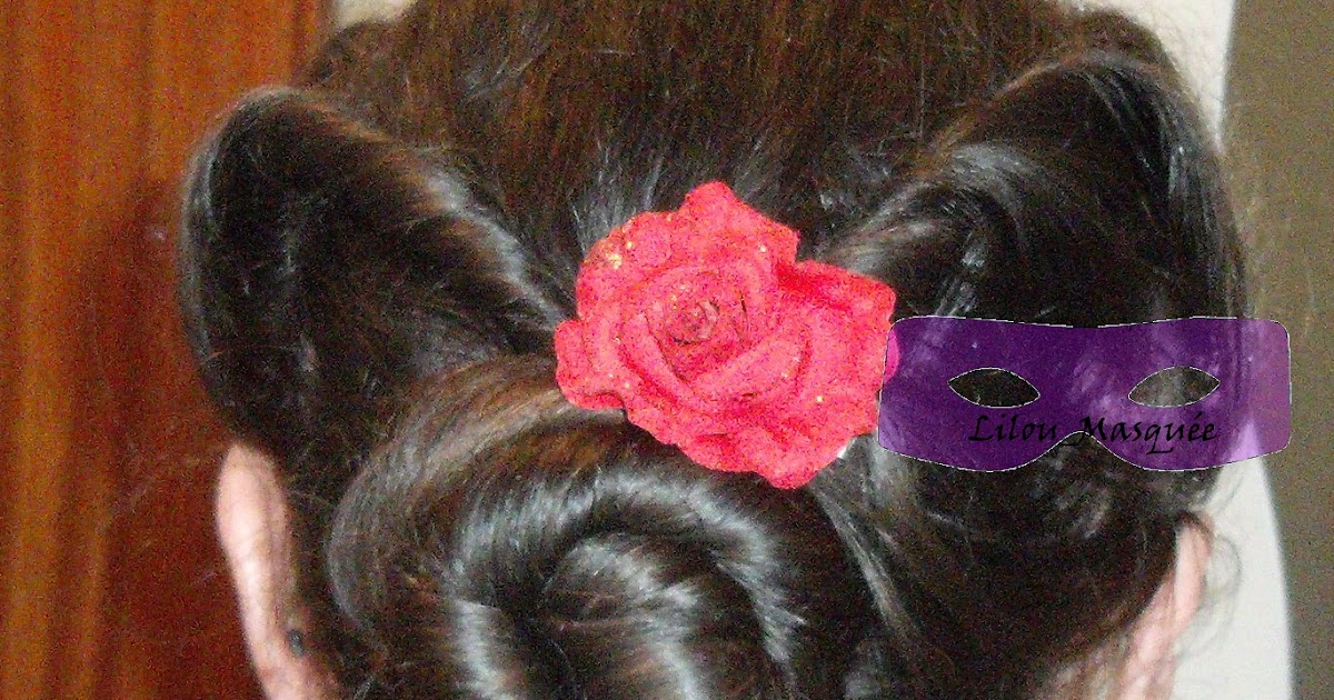 1001 coiffures tuto coiffure chignon pin up ann es 40. Black Bedroom Furniture Sets. Home Design Ideas