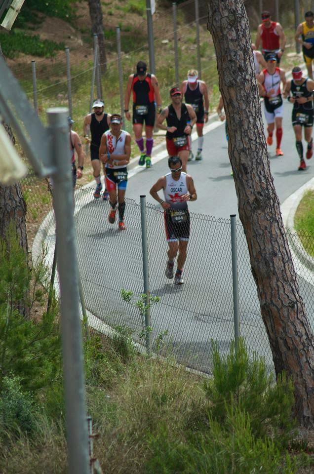 fotos extreme man salou 2014 rampa subida correr recorrido