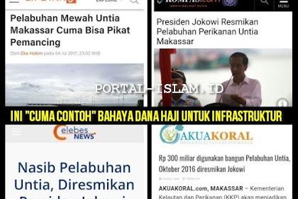 """INI """"CUMA CONTOH"""" BAHAYA DANA HAJI UNTUK INFRASTRUKTUR: Pelabuhan Mewah Yang Diresmikan Jokowi Terbengkelai Kini Jadi Tempat Pacaran"""