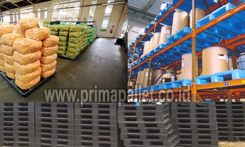 Pallet Plastik untuk Displai Penjualan Produk