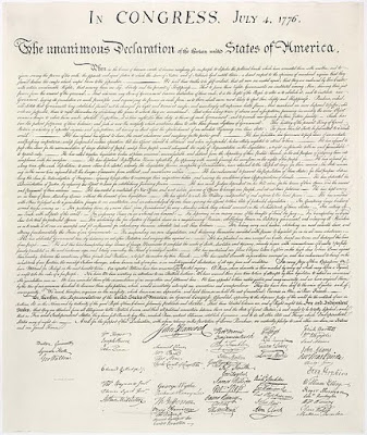 Image - The United States Declaration of Independence - July 4, 1776