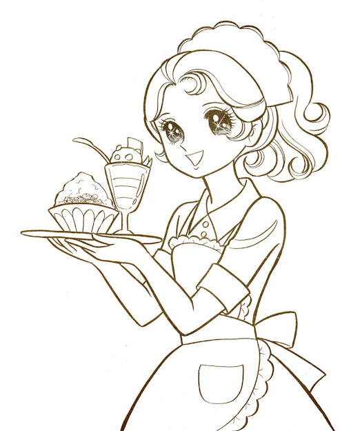 Free Hi This Is Few Coloring Pages From This Manga Coloring Pages For  Adults Manga Boy