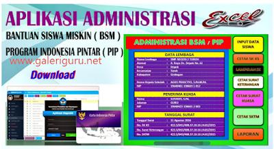APLIKASI ADMINISTRASI PRAKTIS PENGELOLAAN BANTUAN SISWA MISKIN (BSM)/ PROGRAM INDONESIA PINTAR (PIP)