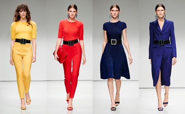 Best of New York Fashion week fall 2016.Escada fall 2016.