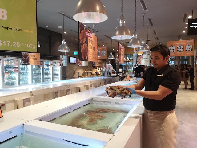 Live Seafood Market