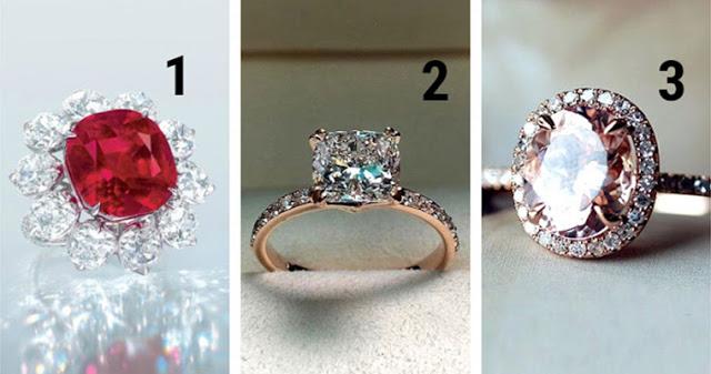 Выберите кольцо, которое вы бы хотели получить в подарок!