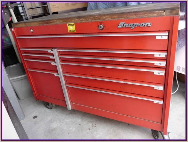snap on tool storage top chest