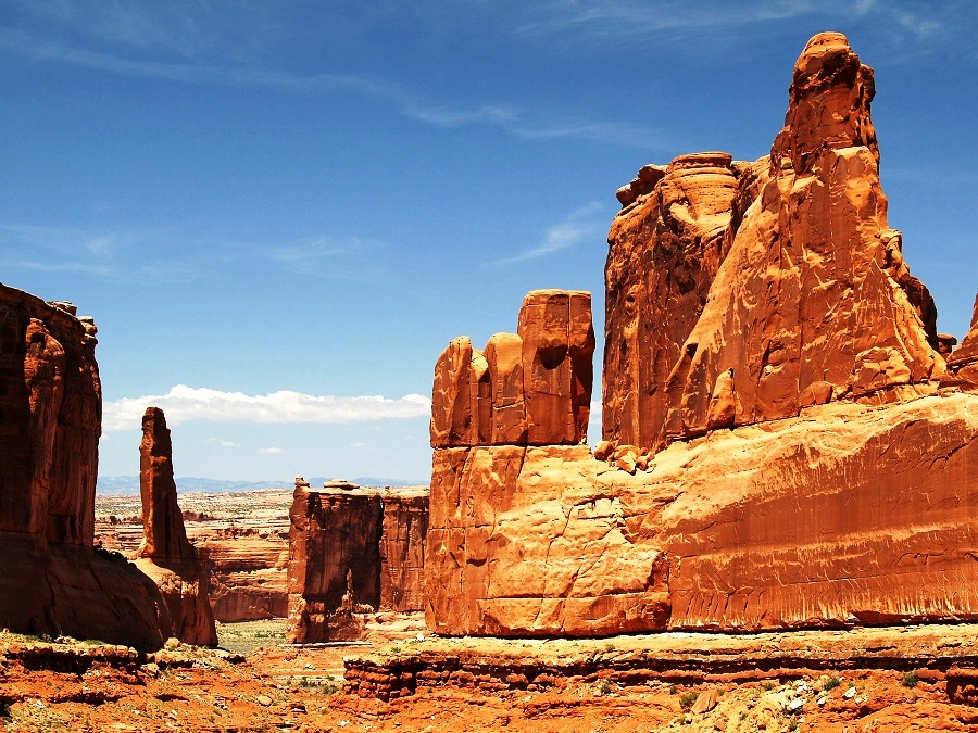 Arches National Park Utah The Highest Density Of