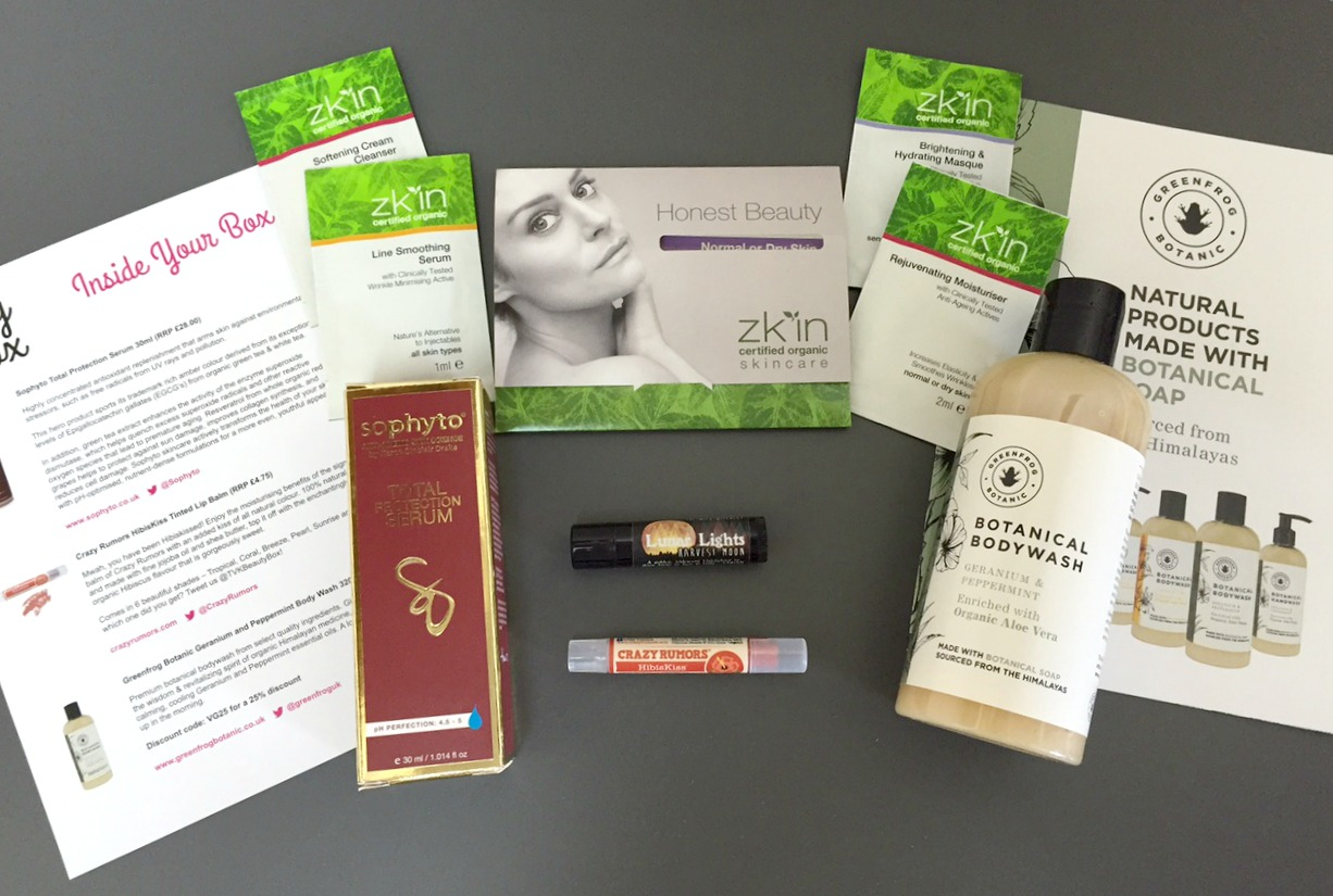 The Vegan Kind Beauty Box May 2015