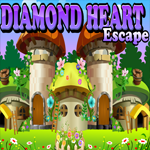 Games4King Diamond Heart Escape