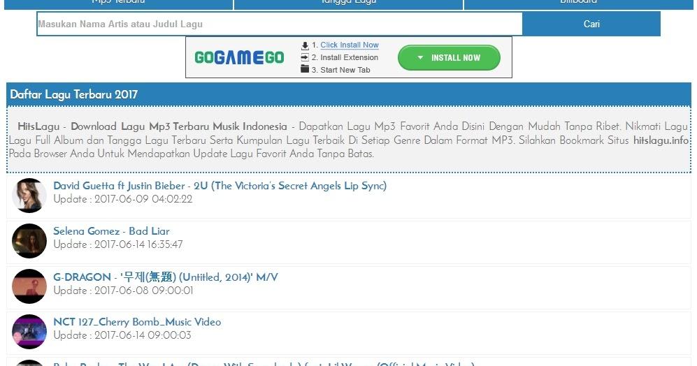 Hitslagu Info Tempat Download Lagu Mp3 Terbaru Gratis