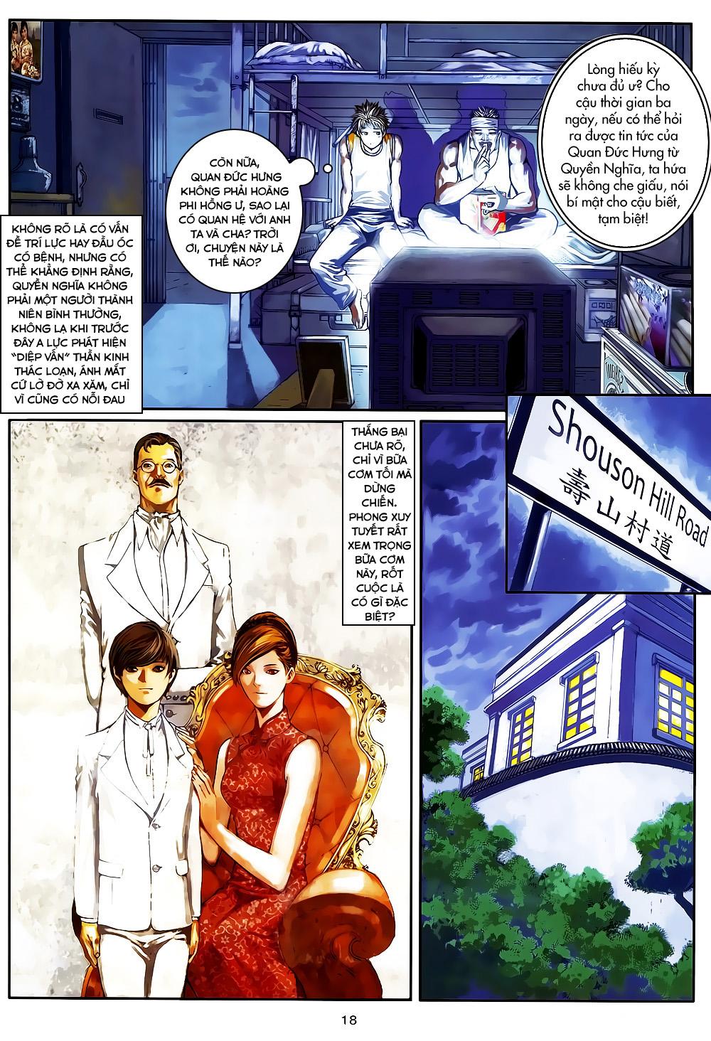 Quyền Đạo chapter 5 trang 18