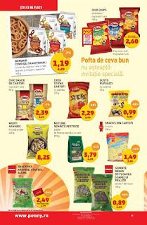 catalog penny 9 - 15 ianuarie 2019 reduceri chipsuri si alune