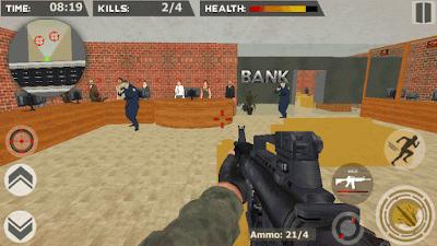 لعبة Virtual Cop 2 للحاسوب قديمة و لعبتين تشبهاناها على الاندرويد