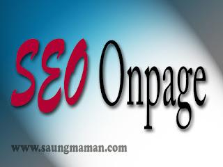 Cara Terbaik Optimasi SEO Onpage Blog