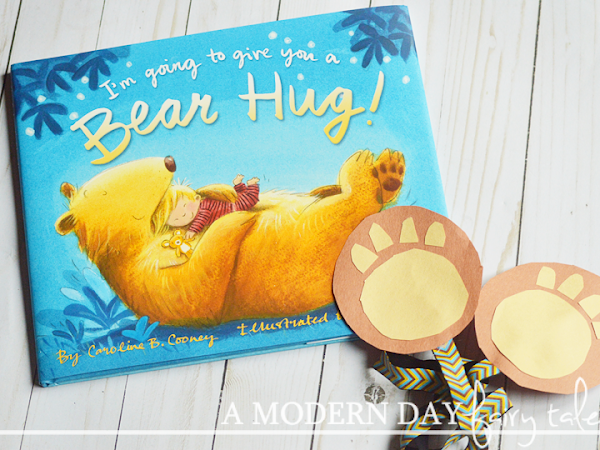 I'm Going To Give You a Bear Hug {Review and Giveaway + Kids Craft} #BearHugs #FlyBy