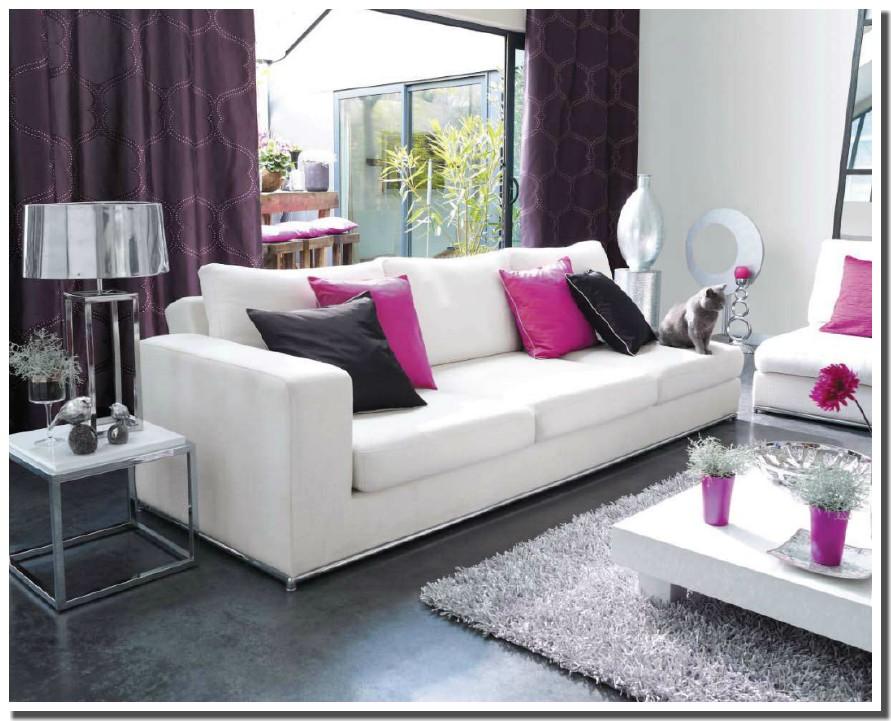 deco salon gris blanc fushia pr l vement d 39 chantillons et une bonne id e de. Black Bedroom Furniture Sets. Home Design Ideas