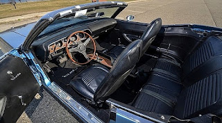 1970 Plymouth Barracuda 340 Coupe Convertible Interior