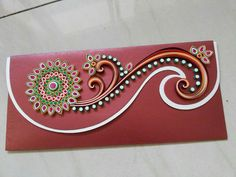 Flower model quilling envelope designs 2015 - quillingpaperdesigns