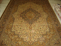 persian design silk carpets