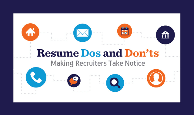 Resume Dos and Don'ts: Making Recruiters Take Notice