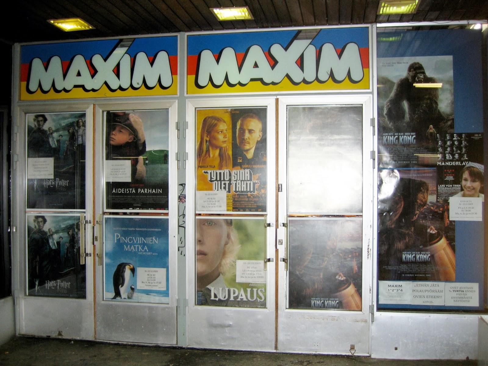maxim elokuvateatteri hämeenlinna omat pornokuvat