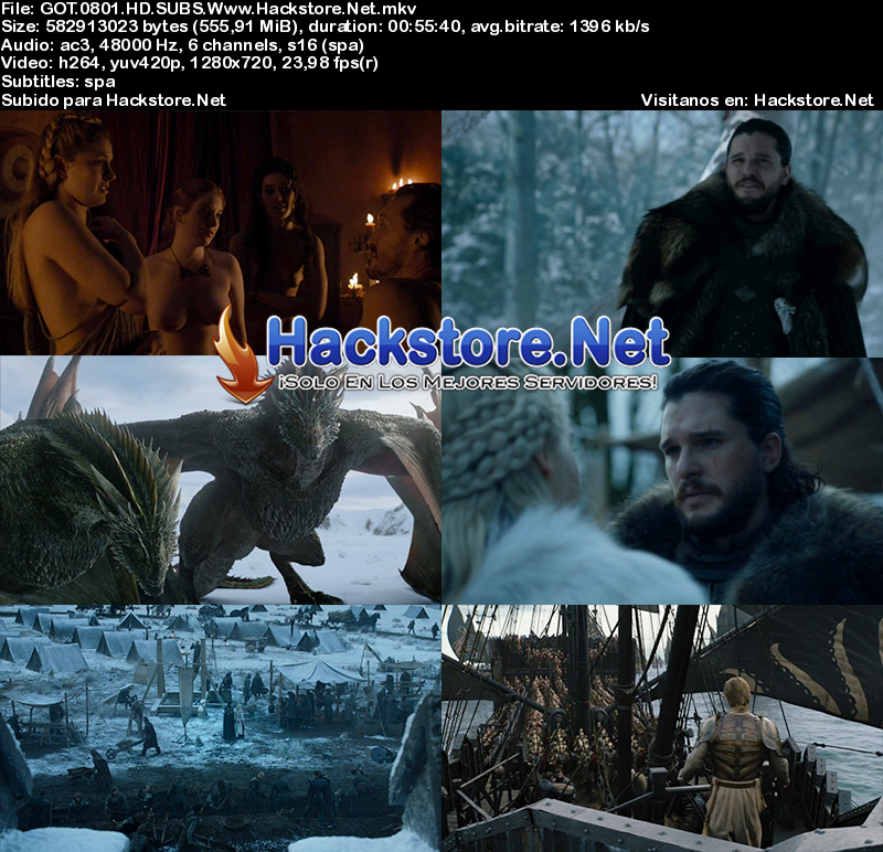 Capturas de Game of Thrones Octava Temporada Subtitulada HD