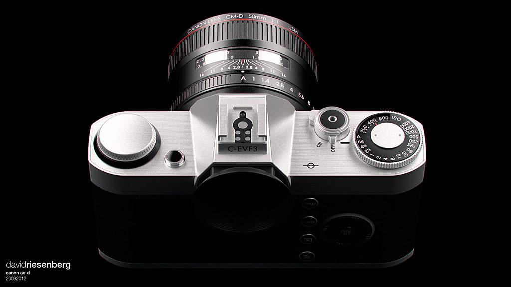 Макет камеры Canon от Дэвида Ризенберга
