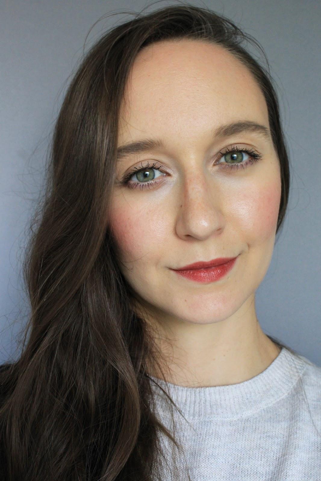 Ere Perez Carrot Colour Pot in Happy. Makeup selfie. Love Lula