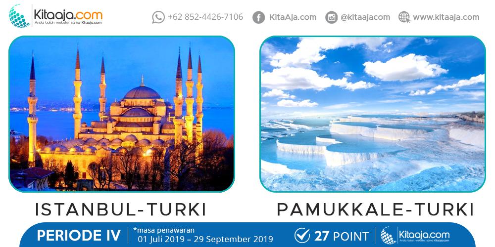 Jalan-Jalan Gratis ke Luar Negeri Istanbul Turki | KitaAja.com
