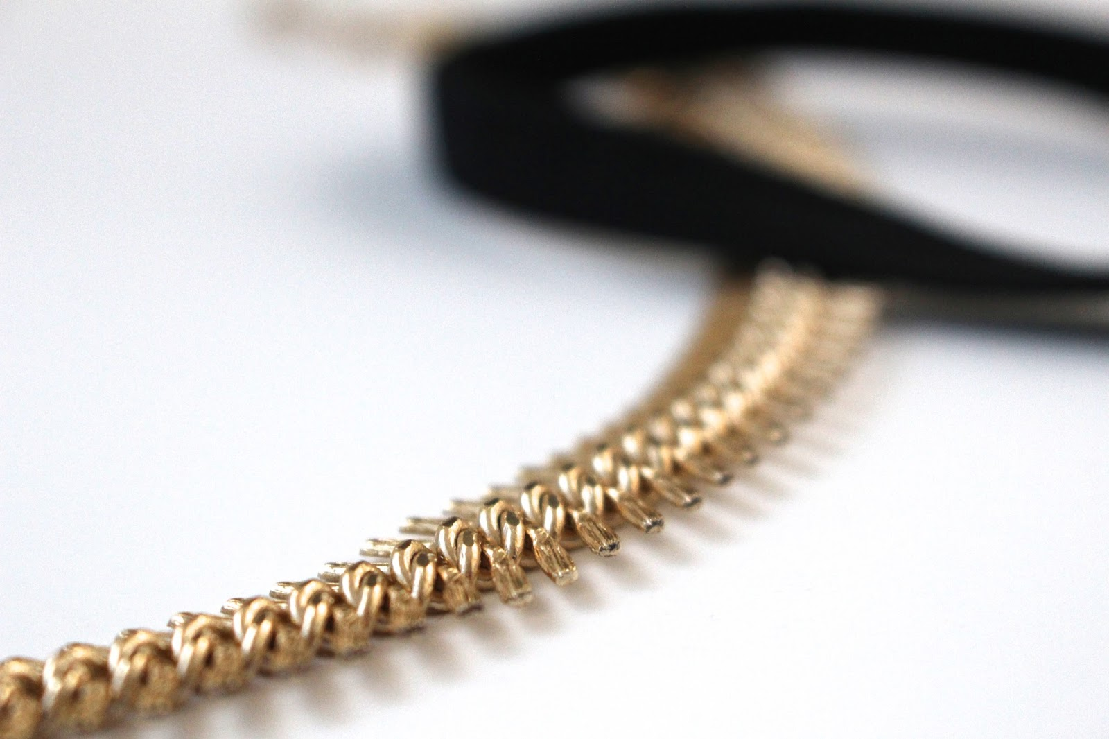 Gold Antique Necklace Fishtail