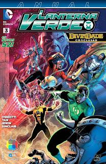 Os Novos 52! Lanterna Verde - Anual #3