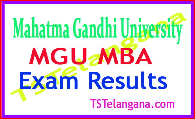 Mahatma Gandhi University MBA Regular 2018 Exam Results