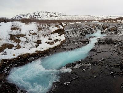 Bruarfoss nieznane atrakcje Islandii