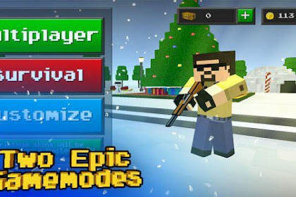 Pixel Strike 3D v4.0.1 Mod Apk (Unlimited Money) Terbaru