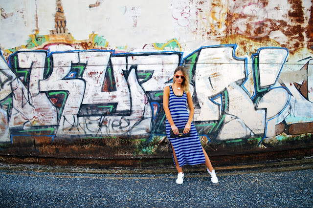 fashion graffiti wall