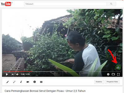 Cara Membuat Watermark di Video YouTube