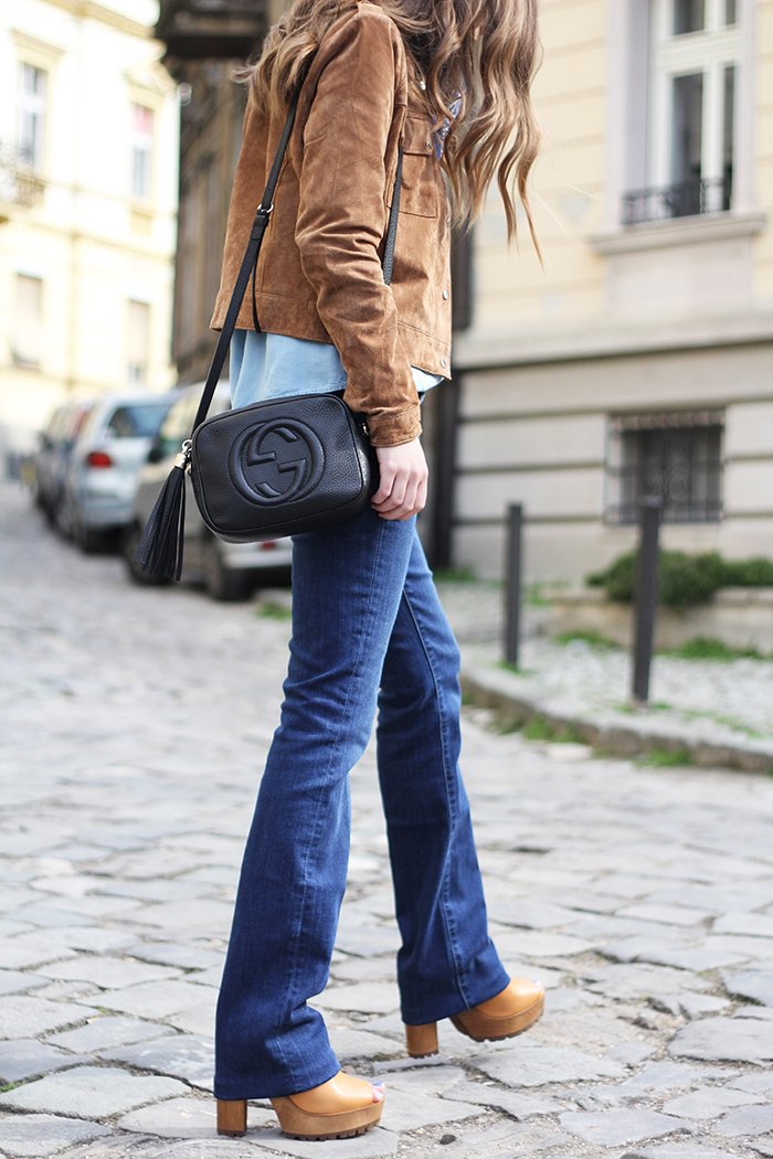Fashion And Style: Flared Jeans