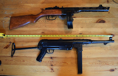 Denix PPSH-41 and MP-40