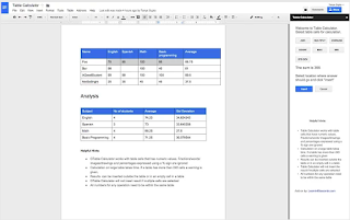 google drive how to add boxes to a table
