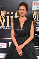Esha Gupta in a Deep Neck Sleeveless Dark Green Gown at IIFA Utsavam Awards 2017     32.JPG