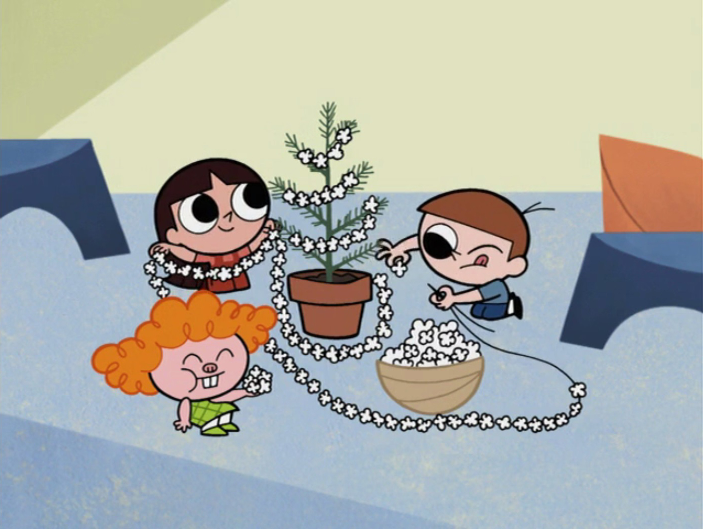 Twas The Fight Before Christmas.Holiday Film Reviews Powerpuff Girls Twas The Fight