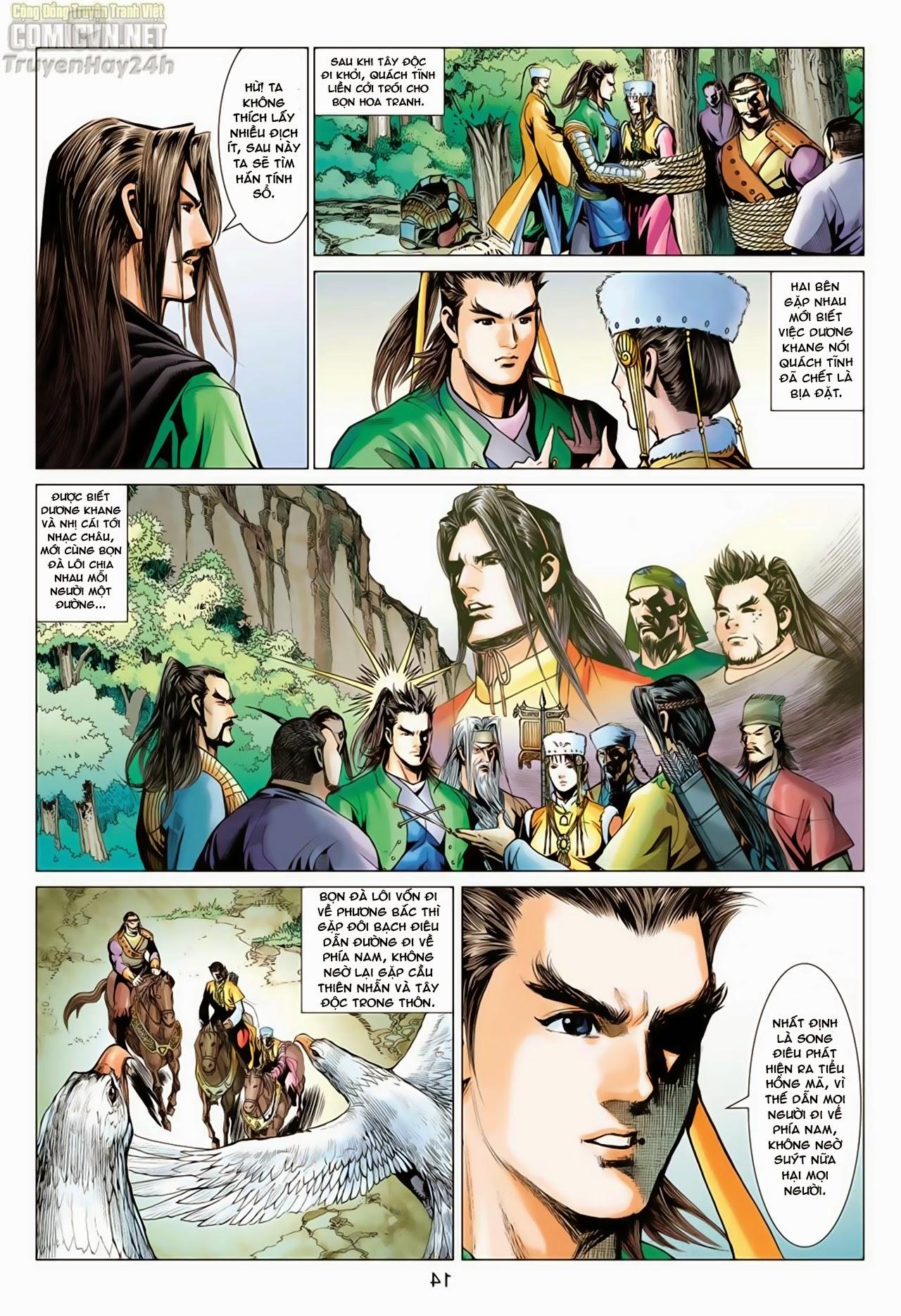 Anh Hùng Xạ Điêu anh hùng xạ đêu chap 65: cái bang tân chủ trang 14