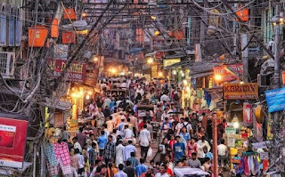 Traveling Delhi markets