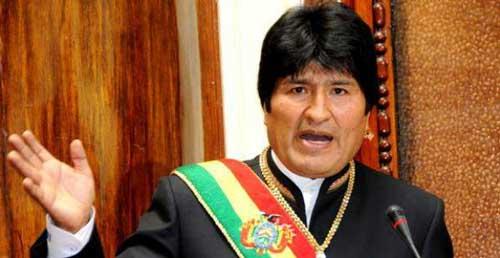 Evo leerá su informe desde un hotel privado de Tarija