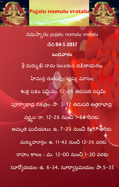 Today's panchangam in Telugu,rasiphalai in telugu ,rasi phalau in english