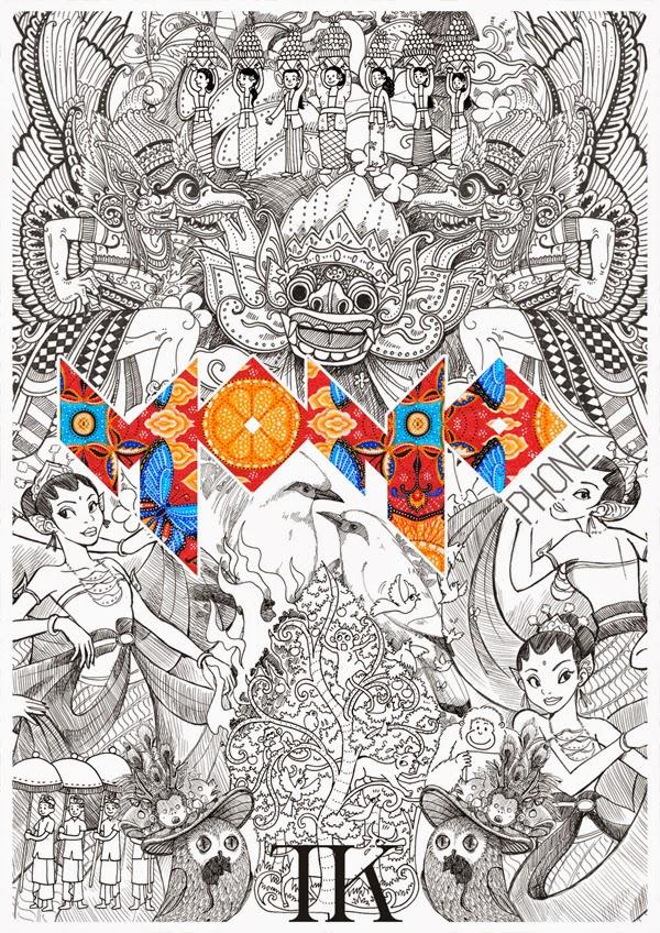 Thomas Kurniawan S Portfolio Heritage Of Indonesian Culture Artwork